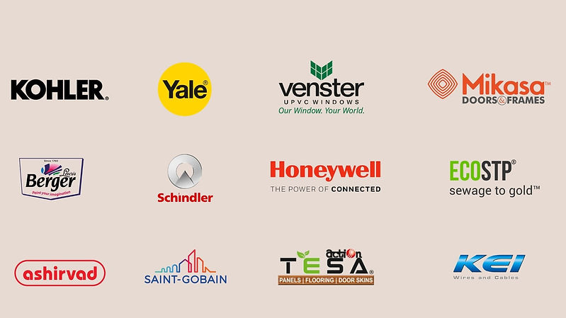 Some of the Global Brands Used at Lakesi