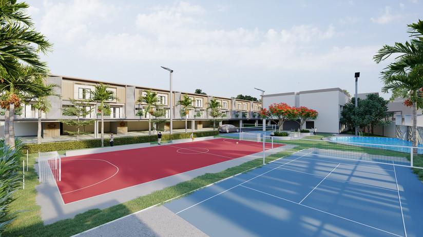 Tennis Court & Futsal Ground