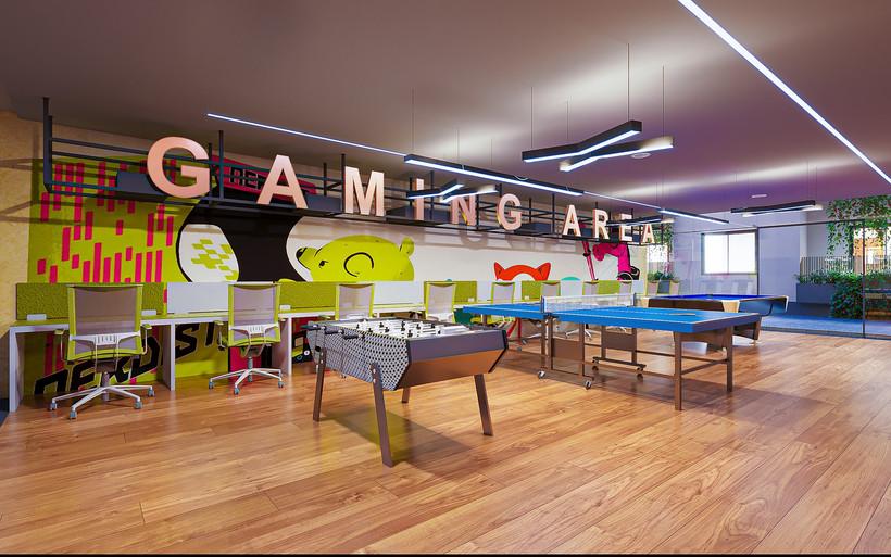 Indoor Gaming Area