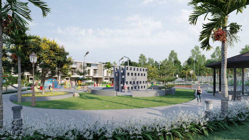 Jogging Track & Outdoor Library