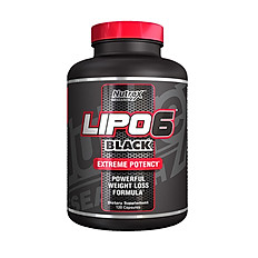 LIPO6 BLACK FAT BURNER