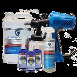 Business Covid-19 Protection Kit-Fogger, 1 gallon Gtech Clean, 1 16 oz Gtech Clean, 3 bottles 4 oz Gtech Armour