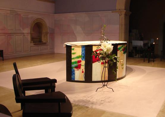Ste Chantal autel.jpg