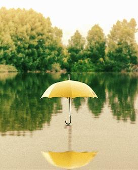 umbrella, reflection, umbrella reflection, sports association or club, program support