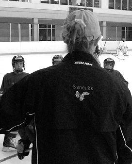 brooke whitney, on-ice instruction, hockey, coaching, training, coaching and training