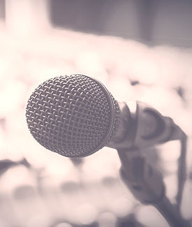 microphone, speaking engagements, seminars, talks