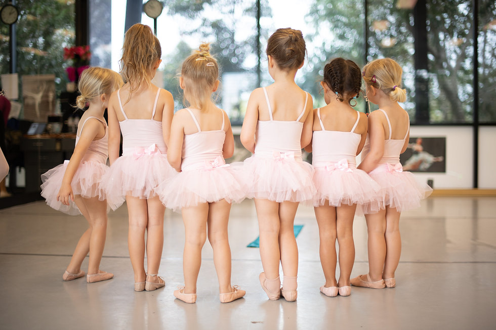 The Dance Centre Peregian Springs Tiny Toe Dancers