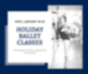 Holiday Ballet Classes