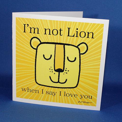 Not Lion