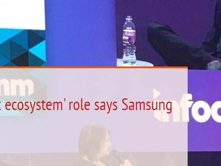 Stores have 'product ecosystem' role says Samsung design chief