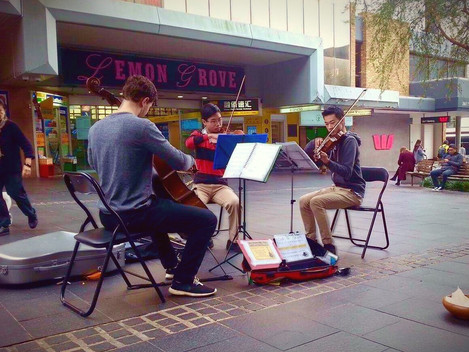 January Busking Bonanza