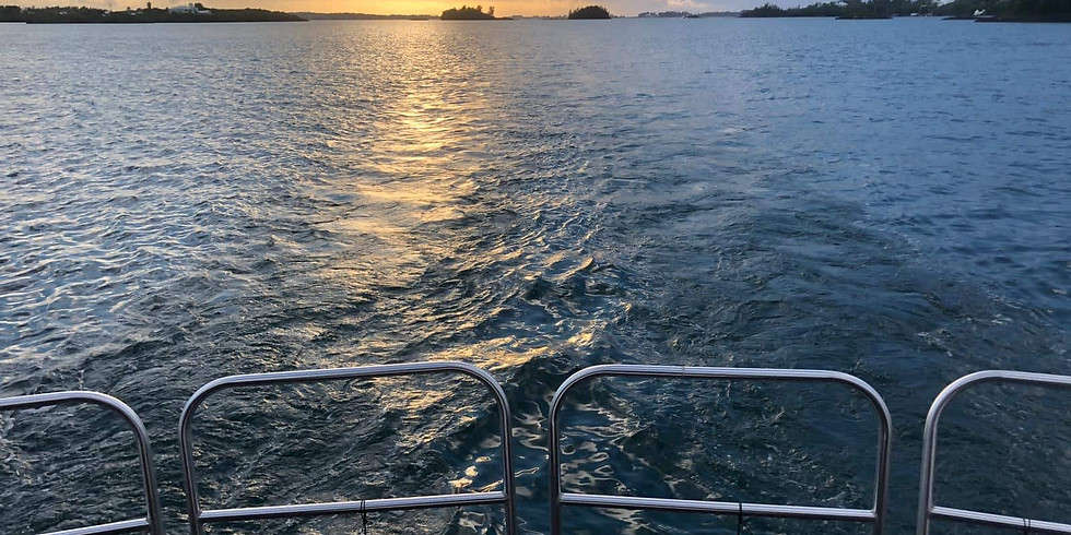 Sunset Dinner Cruise Thursday 27th May 6:00pm-9:00pm