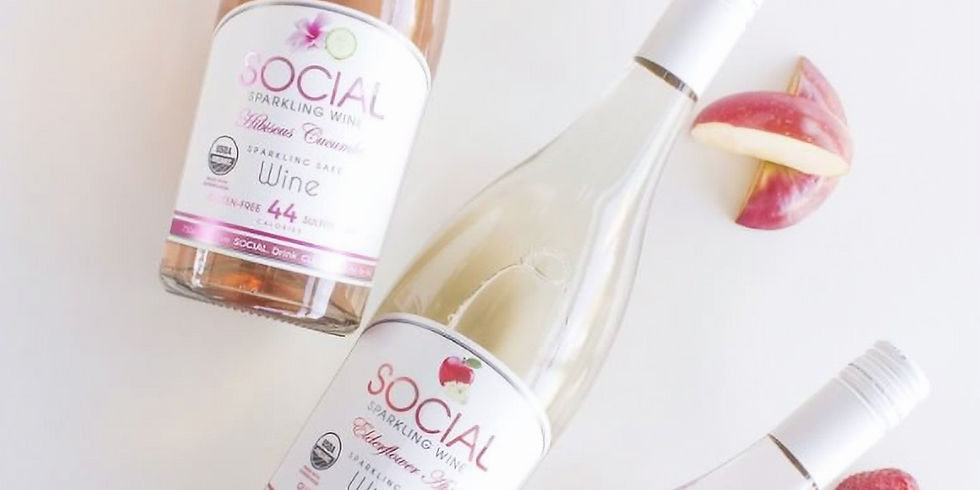 Social Sparkling Wine LAUNCH!!!