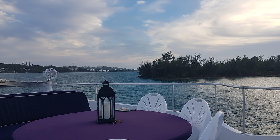 Sunset Dinner Cruise Saturday 3rd October 6:00pm-9:00pm (1)