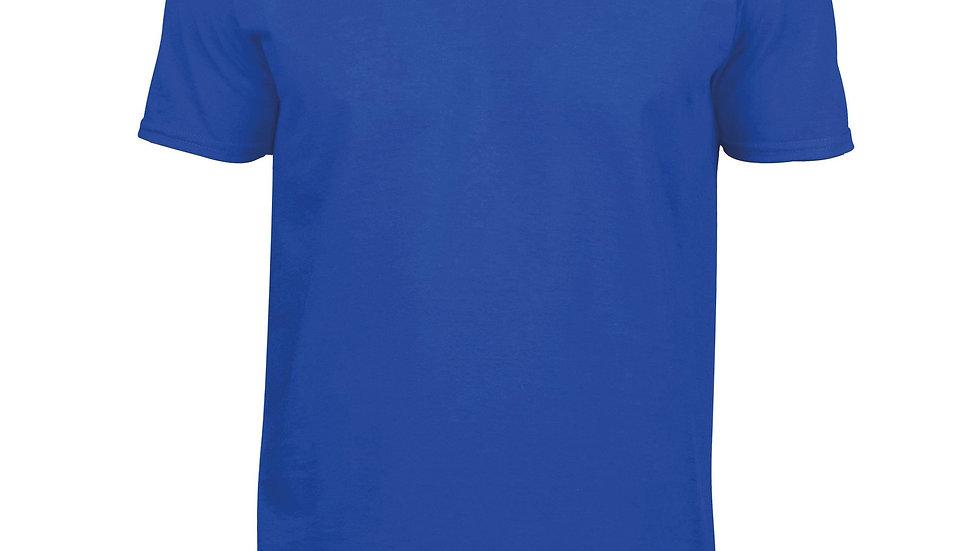 Mens Round V-neck T-shirts