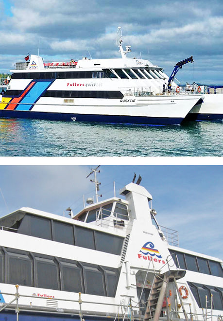 Fullers Ferries Fleet