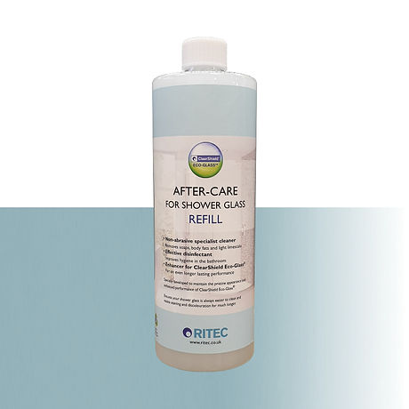After-Care for Shower Glass Refill