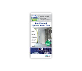 ClearShield Eco-System™ Showers Rack Card