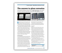 'The Answer to Glass Corrosion' Article