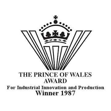​Prince of Wales Award for Industrial Innovation and Production 1987 Winner