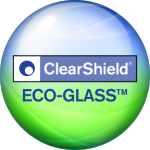 ClearShield Eco-Glass Logo