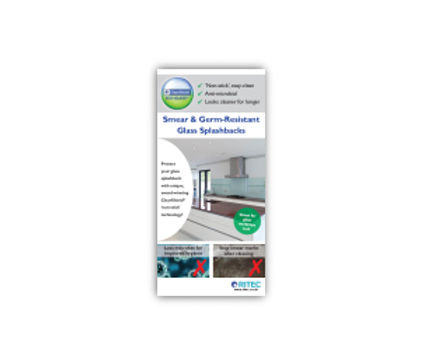 ​ClearShield Eco-System™ Splashbacks  Rack Card