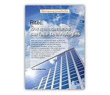 'Ritec: Low-Maintenance Surface Technologies' Article