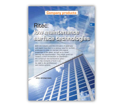 ​'Ritec: Low-Maintenance Surface Technologies' Article