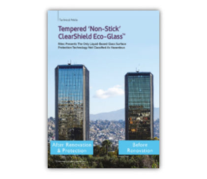 Tempered 'Non-Stick' ClearShield Eco-Glass™