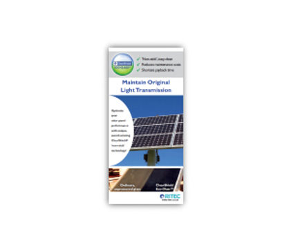 ​ClearShield Eco-System™ Solar Rack Card