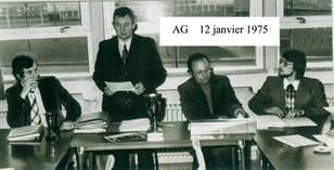 AG janvier 1975