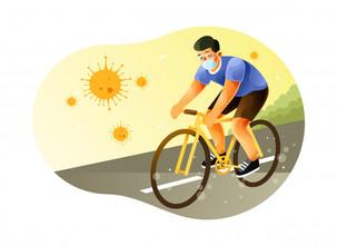 COVID 19 et pratique du vélo au 02 avril 2021
