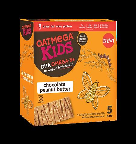 OM Kids Bar 0.88oz Chocolate Peanut Butt