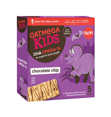 OM Kids Bar 0.88oz Chocolate Chip (5pk)