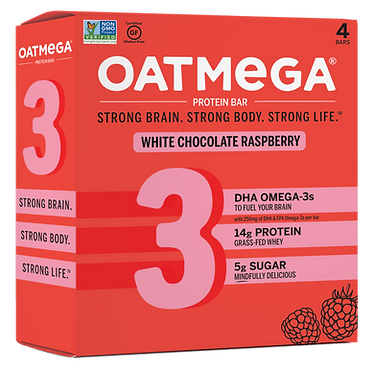 OM 1.76oz White Chocolate Raspberry (4pk