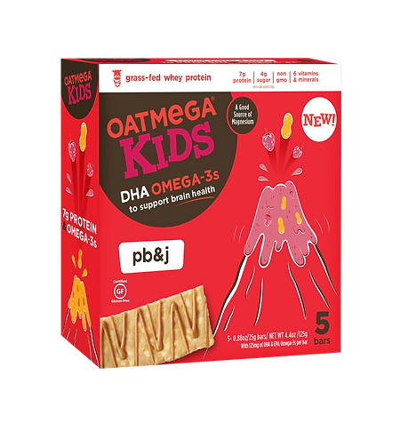 OM Kids Bar 4.4oz PB J (5pk) Multipack 8