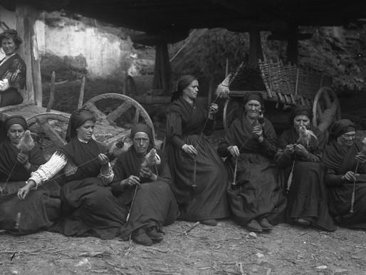 Los asturianos en la cocina.
