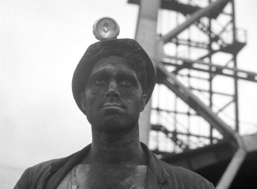 Gijón: Fotografía minera