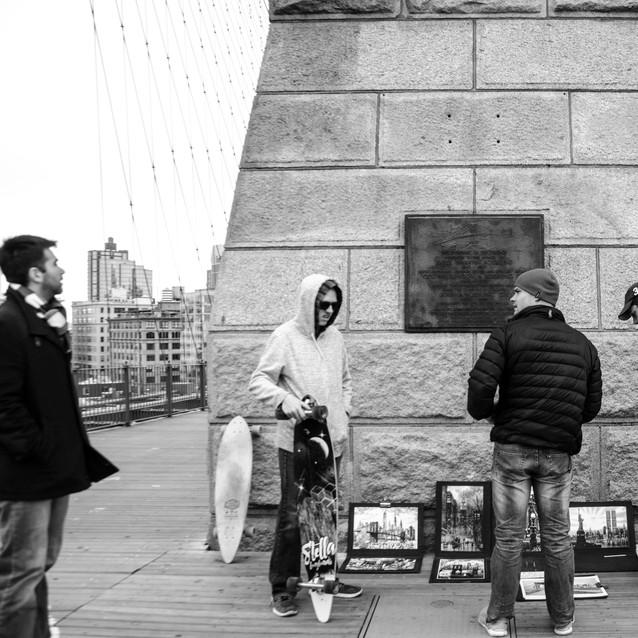 Brooklyn Bridge -  Nova York - 03.2017
