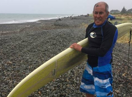 Tasman Sea borrows Eddie's dentures for a fortnight, returns them undamaged