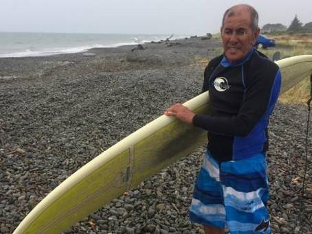 Tasman Sea borrows Eddie's dentures for a fortnight, returns them undamaged