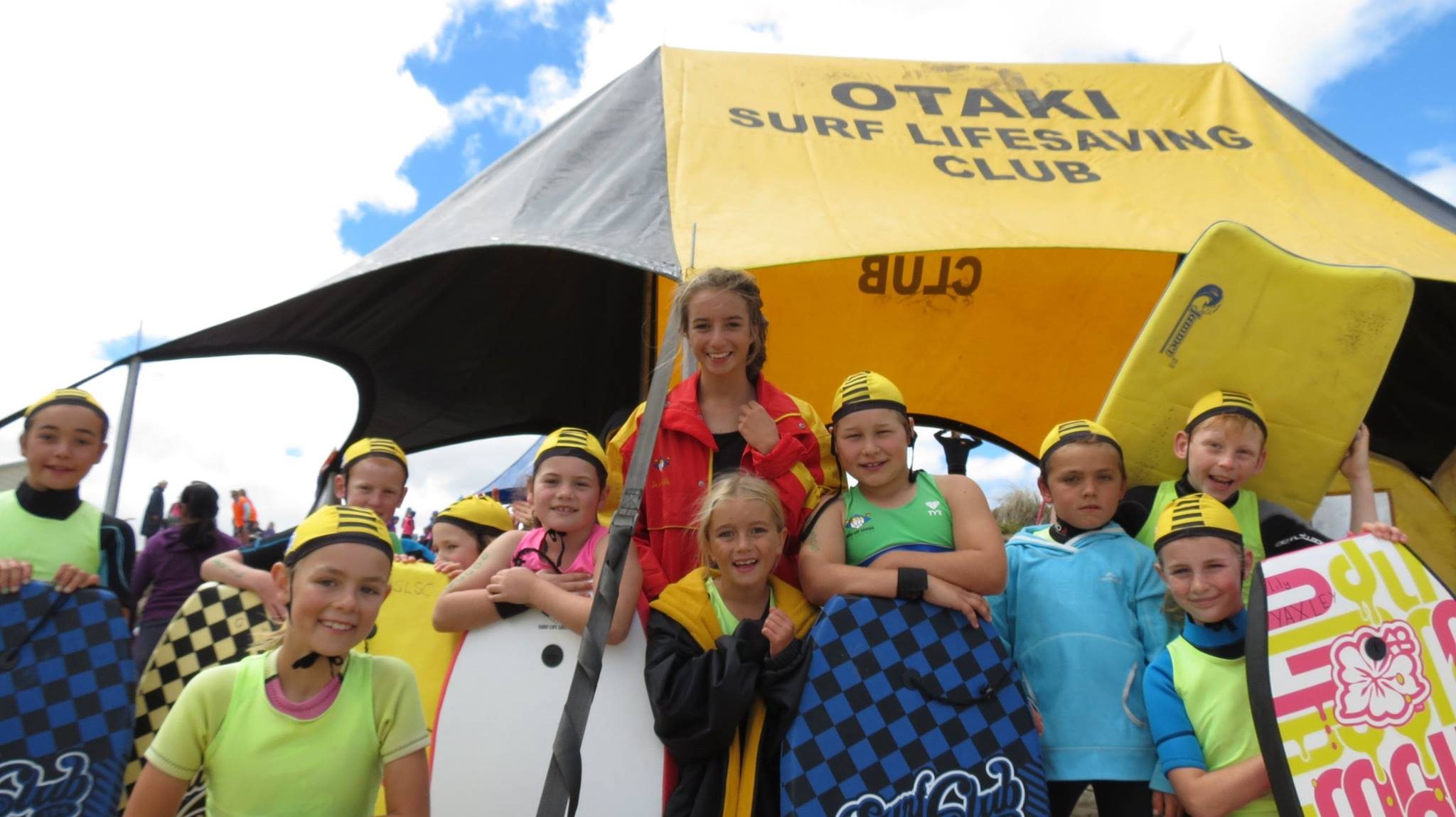 Otaki surf club nippers