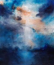 Sky is over - tecnica mista su tela - 12