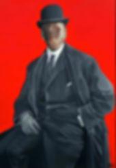 The Twenties II-acrilico e inchiostro su