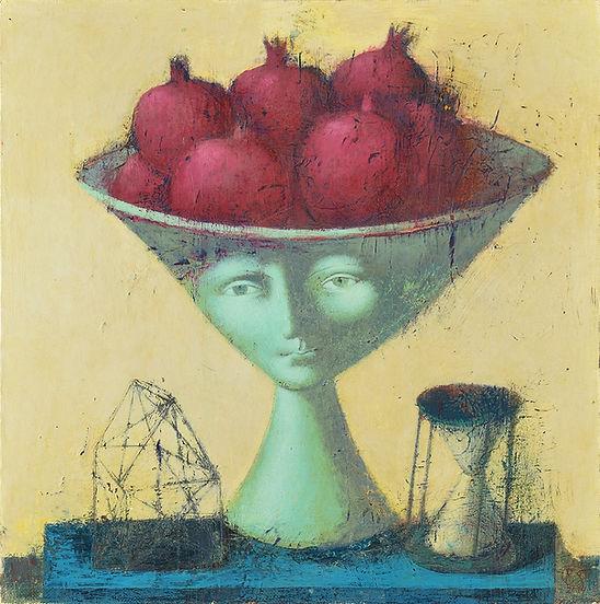 Sveta rumak-Fruit of desire-acrilico su