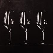 eugi-black glasses-40x40-olio su tela-50