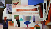 1 - Grand nature I 114 x 195 cms acrylic