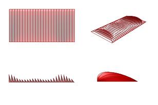 parametric fish gills