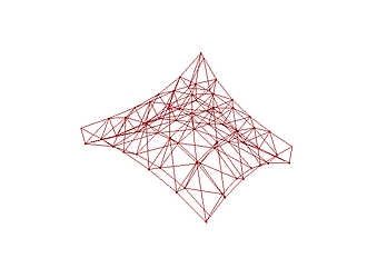 curved truss grid