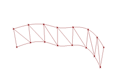 truss from curve